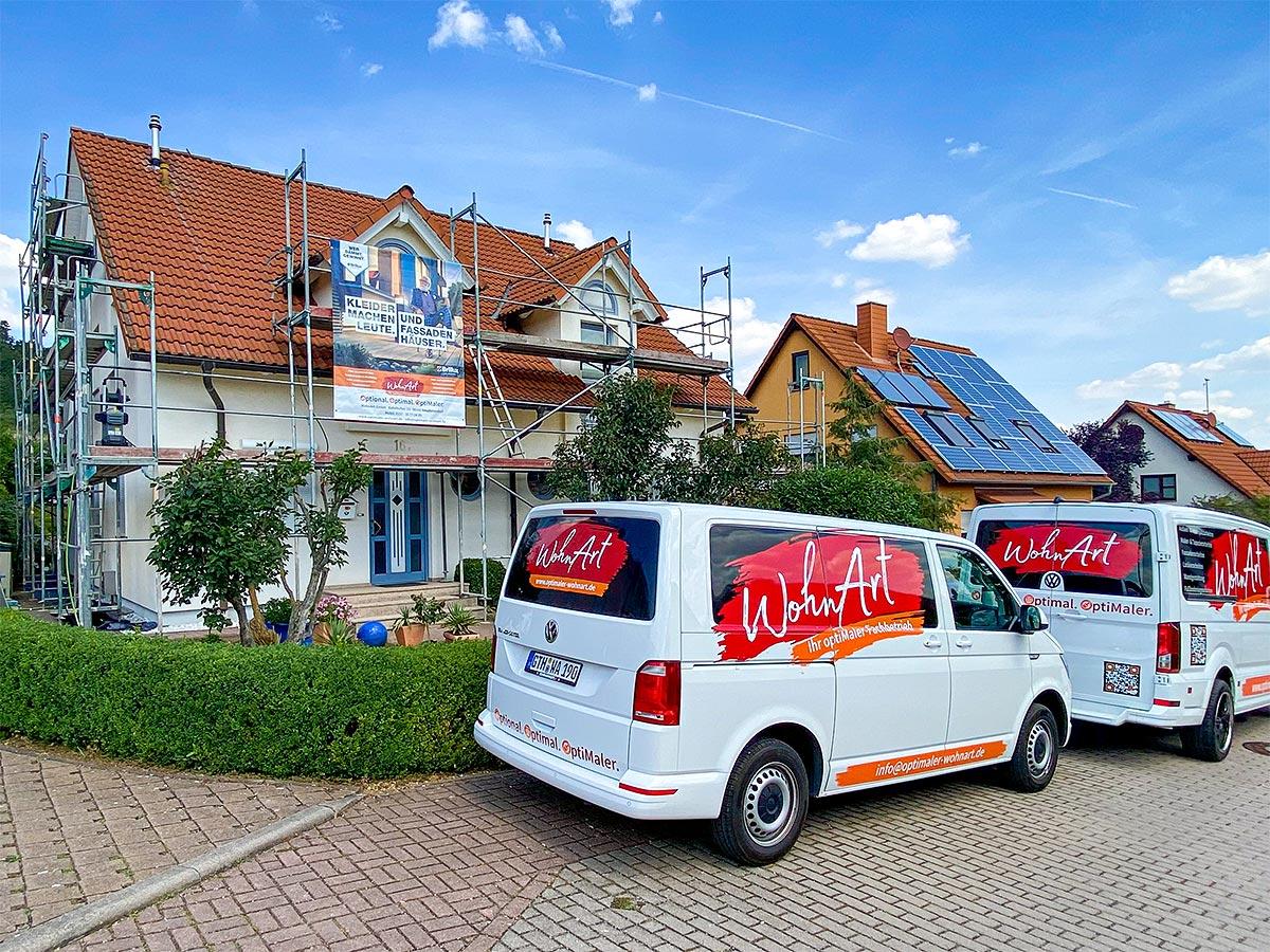 WohnArt Referenz > Putz- & Fassadenarbeiten