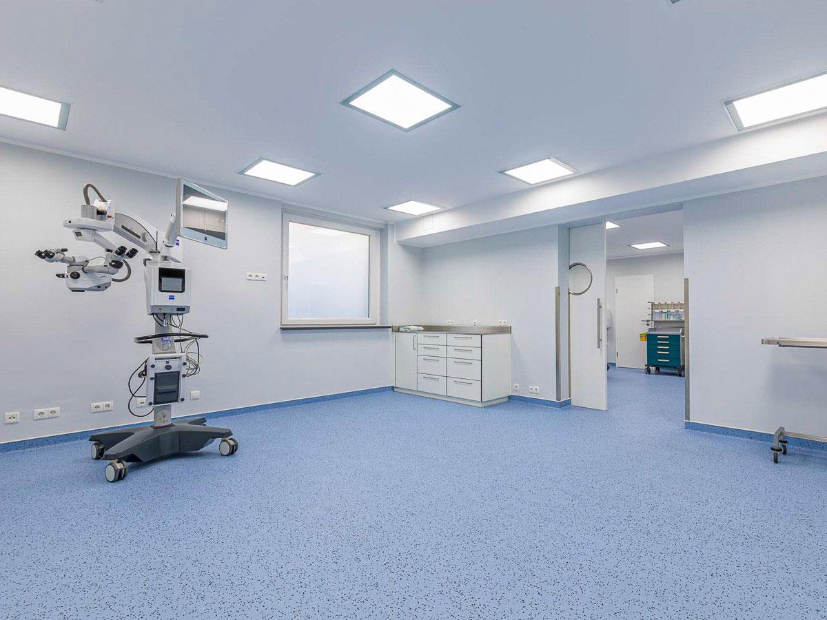 Malerarbeiten - Gewerbe - Augenklinik Göttingen